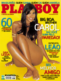 Playboy - CAROL - BIG BOA BROTHER  !