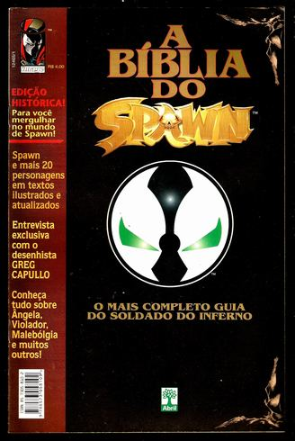 A BÍBLIA DO SPAWN - SOLDADO DO INFERNO