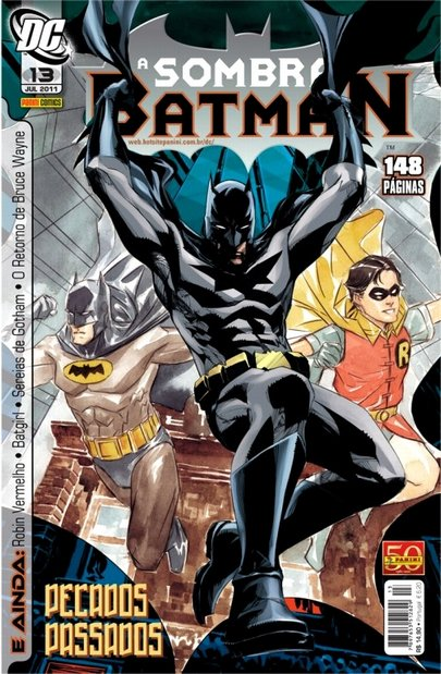A SOMBRA DO BATMAN nº 13 - Panini