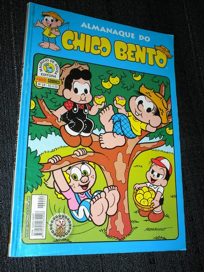 Almanaque do Chico Bento nº 024 - Ed. Panini
