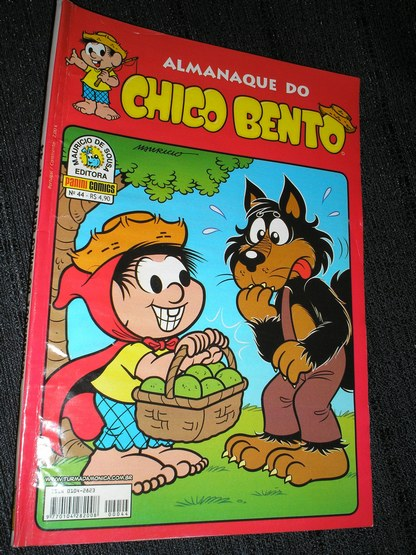 Almanaque do Chico Bento nº 044 - Ed. Panini