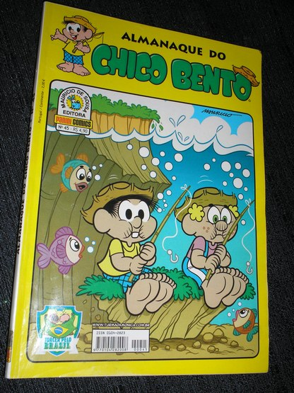 Almanaque do Chico Bento nº 045 - Ed. Panini