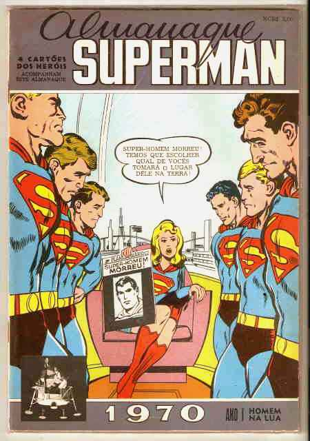 ALMANAQUE SUPERMAN 1970 - Ed. EBAL