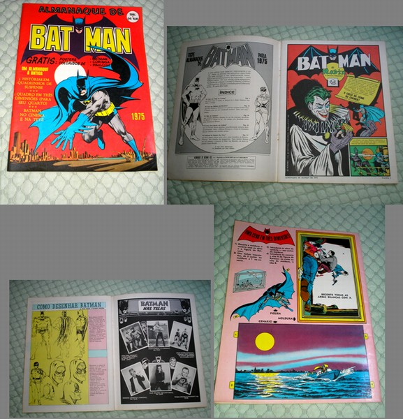 ALMANAQUE 1975 - BATMAN - EBAL