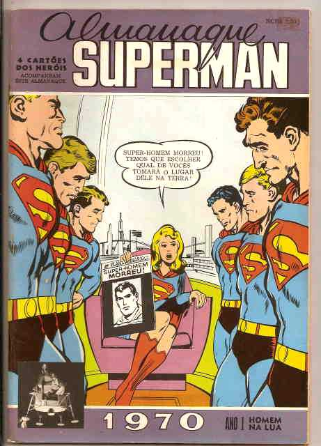 ALMANAQUE SUPERMAN  - 1970 - EBAL
