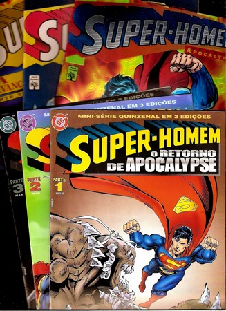 . Super-Homen vs Apocalypse - O Retorno e a Revanche