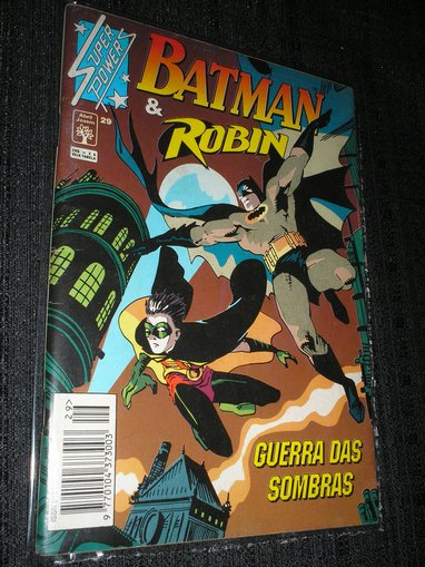 SUPERPOWERS nº 29 – BATMAN & ROBIN
