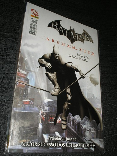 BATMAN - ARKHAM CITY - Ed. encadernada