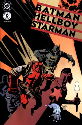 Batman vs Hellboy vs Starman