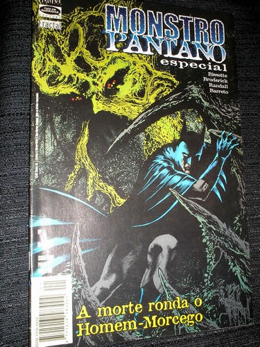 . BATMAN & MONSTRO DO PANTANO ESPECIAL