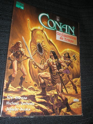 . CONAN - OS GUERREIROS DO TEMPO - GRAPHIC MARVEL