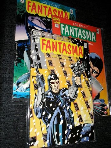 FANTASMA - The Ghost Who Walks - mini série 3 partes