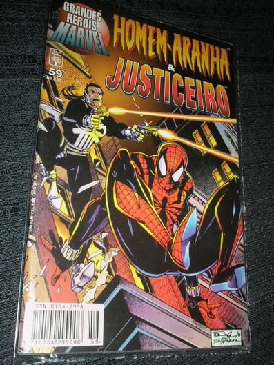 Grandes Herois Marvel nº 59 - Justiceiro