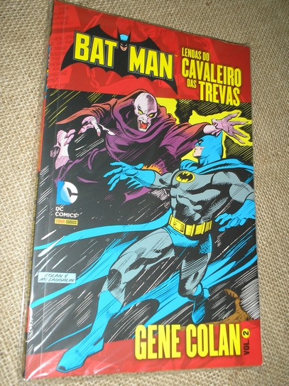 . Batman Lendas do Cavaleiro das Trevas - Gene Colan vol 2