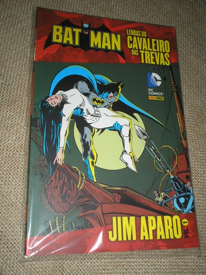 . Batman Lendas do Cavaleiro das Trevas - Jim Aparo vol 1
