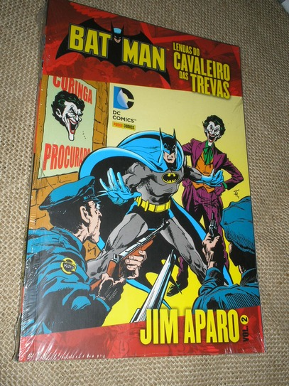 . Batman Lendas do Cavaleiro das Trevas - Jim Aparo vol 2