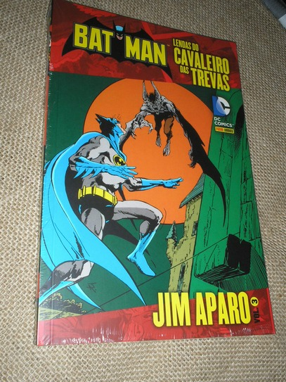 . Batman Lendas do Cavaleiro das Trevas - Jim Aparo vol 3