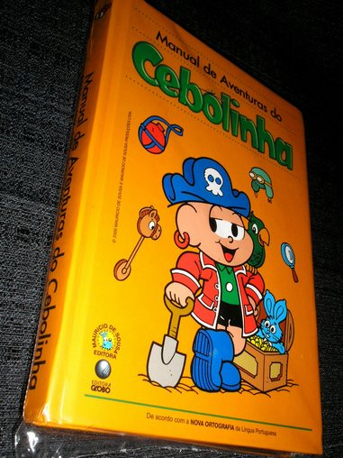 . Manual de Aventuras do Cebolinha - Capa Dura