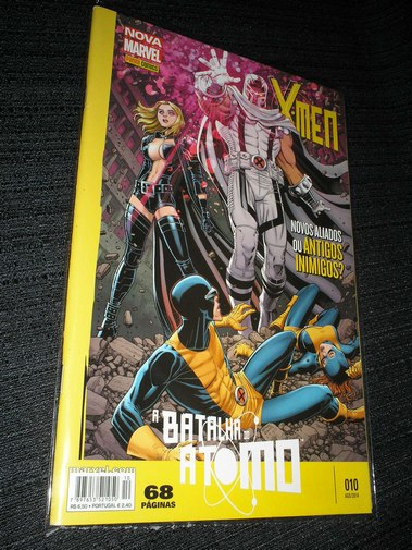 Nova Marvel - X-Men nº 010