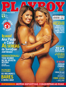 Playboy - As Sereias do SuperSurf juntinhas !