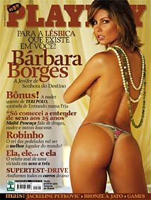 Playboy - Bárbara Borges -A Jenifer da Senhora do Destino !