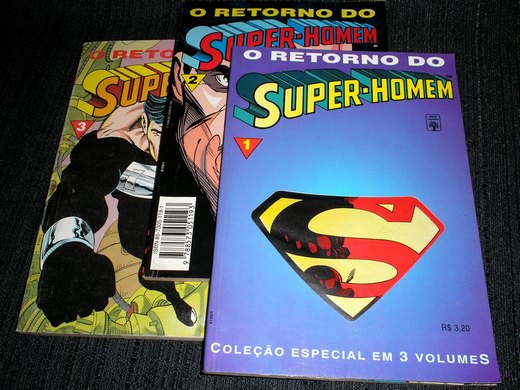 O Retorno do Super-Homen - mini em 3 partes