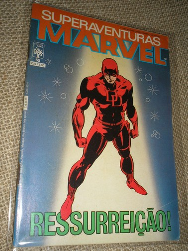 SUPERAVENTURAS MARVEL nº 065