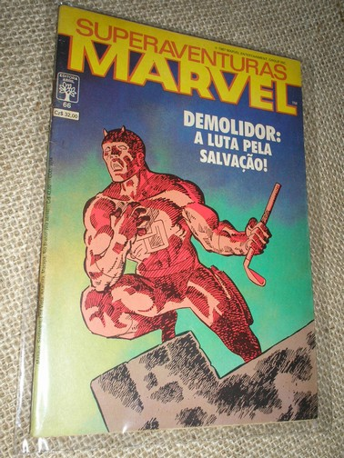 SUPERAVENTURAS MARVEL nº 066