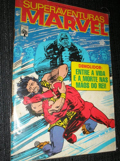 SUPERAVENTURAS MARVEL nº 055