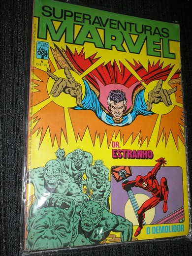 SUPERAVENTURAS MARVEL nº 006