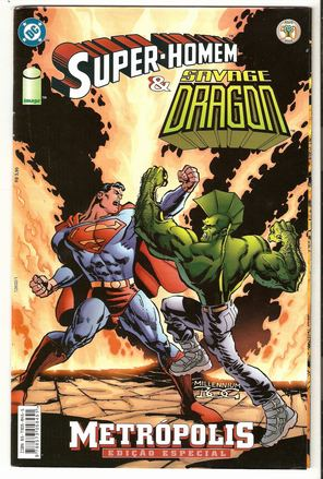 METRÓPOLIS - ED ESPECIAL - SUPER-HOMEN vs SAVAGE DRAGON