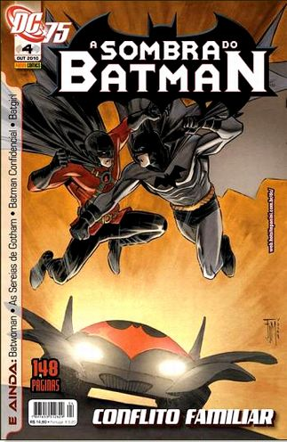 A SOMBRA DO BATMAN nº 04 - Panini