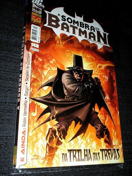 A SOMBRA DO BATMAN nº 12 - Panini