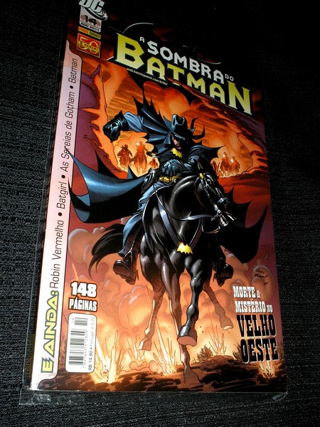A SOMBRA DO BATMAN nº 14 - Panini
