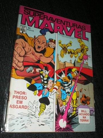 SUPERAVENTURAS MARVEL nº 083