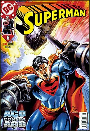 SUPERMAN nº 06 – Ed. Panini