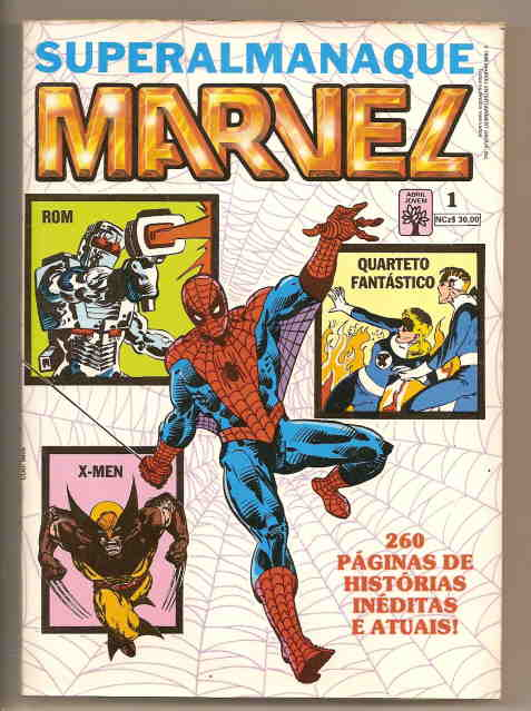 . SUPERALMANAQUE MARVEL nº 1