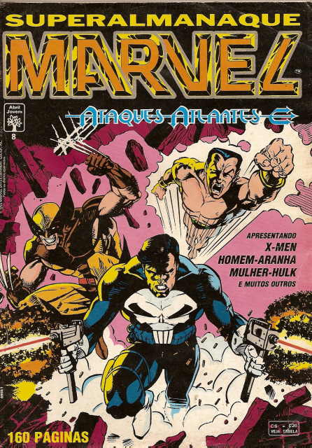 . SUPERALMANAQUE MARVEL nº 8