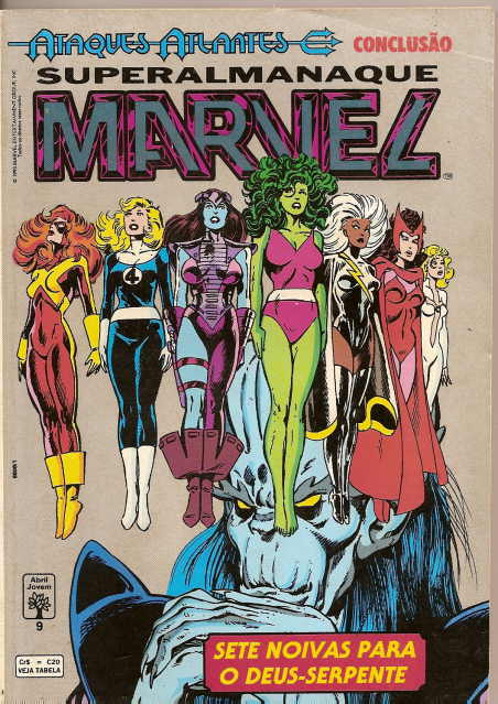. SUPERALMANAQUE MARVEL nº 9