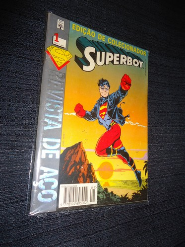 SUPERBOY nº 1 – ano 1994 – Ed Abril