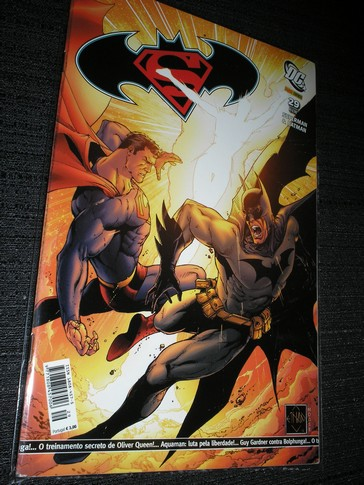 Superman & Batman  nº 29 - Ed. Panini