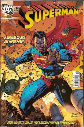 SUPERMAN nº 34 – Ed. Panini