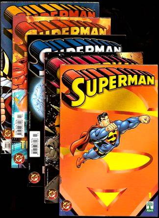 . PLANETA DC - SUPERMAN - Ultima série da Abril