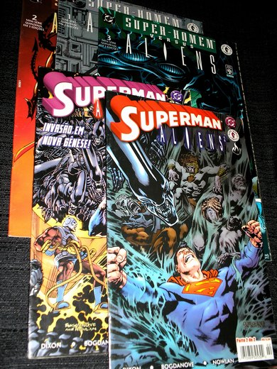 . SUPERMAN & ALIENS I e II