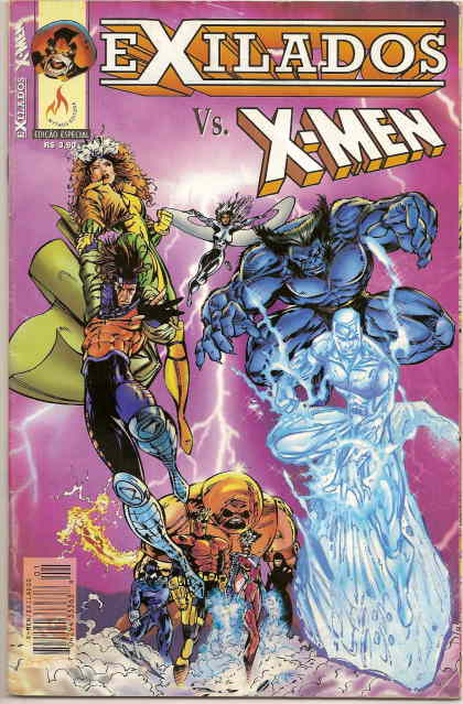 EXILADOS vs X-MEN  - Ed Especial