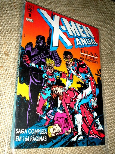 . X-MEN ANUAL Nº 1 - Dias do Futuro do Presente