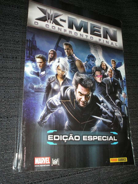 . X-MEN O CONFRONTO FINAL - Ediçãoo Especial
