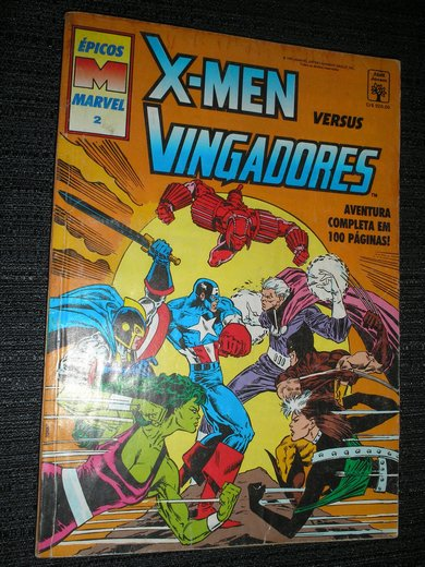 Epicos Marvel nº 2 - X-Men vs Vingadores