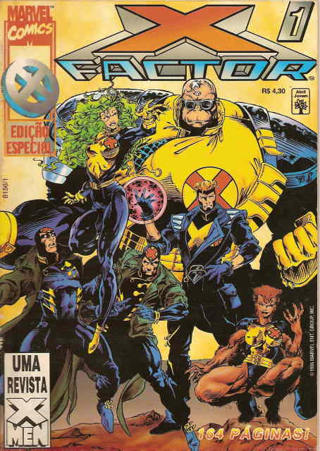 . X FACTOR Nº 1- Marvel Comics